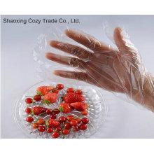 Lebensmittelprodukt Plastik PE Handschuhe