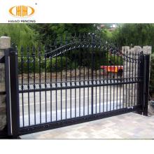Beautiful customized powder coated modern iron gate designs, iron main gate designs