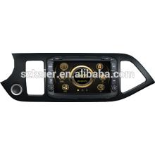 Новый автомобильный GPS плеер для Kia пиканто с GPS/Bluetooth/Рейдио/swc/фактически 6 КД/3G интернет/квадроциклов/ставку/видеорегистратор