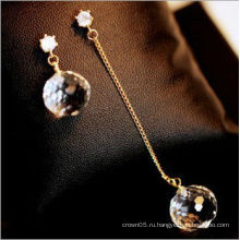 Мода кристалл серьги оптовых продаж
