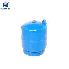 3kg kleine Stahlflasche, Flüssiggasflasche, tragbarer Gastank, Butan