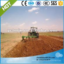 Disc rotary farm land tillage 3 furrow plough, breaking share plow