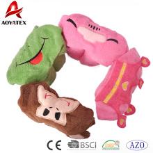 Manta con capucha de bebé Animal de diseño de dibujos animados 100% algodón