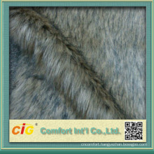 Fashion New Design Polyester Fake Fur Fabric
