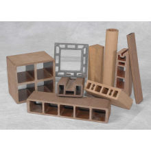 Wood Composite Plastic WPC Profile Extruder Machine
