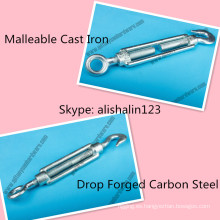 DIN 1480 Tensor de acero maleable de hierro fundido