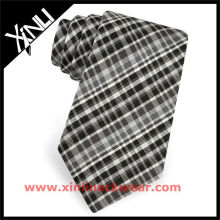 Corbata negra de diseño Brooke para hombre