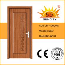 Saudi Arabia Wooden Door with Chipboard Infilling Doors (SC-W104)