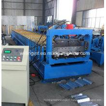 Machine de fabrication de plate-forme de plancher en acier
