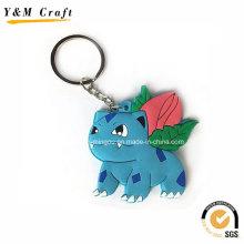 Farbe füllen Soft PVC Key Hanger Geschenk für Client Ym1123