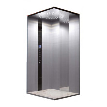 Inoxidable acero espejo grabado hogar ascensor