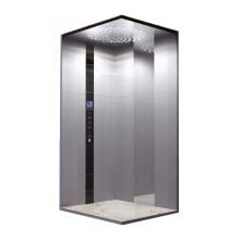Aço inoxidável espelho gravura casa elevador