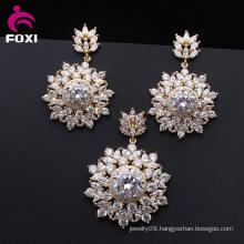 Brass Love Korean Cubic Zirconia Jewelry