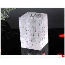 Suporte de caneta de cristal de vidro de decorações de escritório de alta qualidade