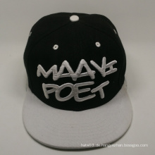 Plain Design 3d Stickerei Hip Hop Cap