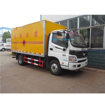 Foton flammable liquid dangerous goods transport truck