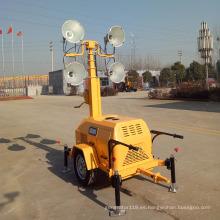 Generador diesel LED torre de luz para venta FZMTC-1000B