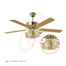 52 '' Ventilador de teto decorativo com controle remoto