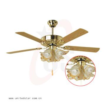 Ventilador de techo decorativo de 52′′ con Control remoto