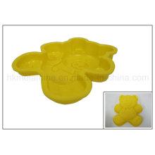 Moule de cuisson de gâteau en forme de ours de silicone (RS24)