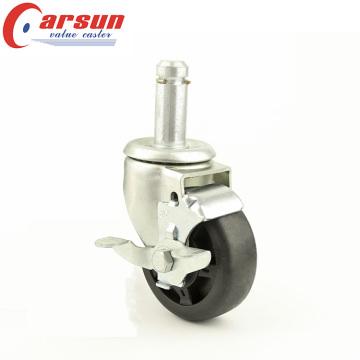 5-ти дюймовый колесный подшипник с круглой рукояткой для средних нагрузок с боковым тормозом