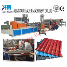 Synthetic UPVC Roof Tile Extrusion Machine