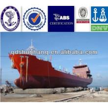 Las bolsas de aire neumáticas del proveedor de China 1.2Mx18M usadas para el lanzamiento de los buques cisterna del petrolero