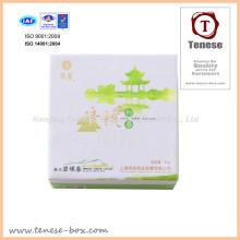 Необычные пакеты для подарочных пакетов чая с УФ-освещением и тиснением фольгой
