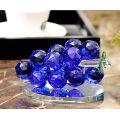 Artesanato de cristal de uva de cristal para decoração de casa ou carro
