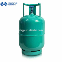 Réservoir de bouteille de gaz GPL entièrement enveloppé de haute performance de 11 kg avec des prix d'usine