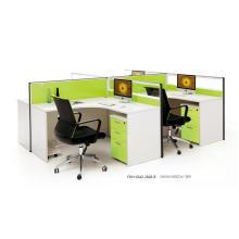 4 panneaux de cubes de bureau de poste de travail de travailleur (FOH-SS42-2828-B)