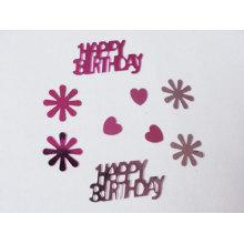 Happy Birthday glitter confetti