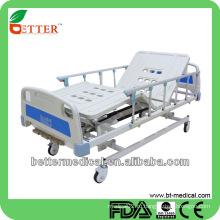 Больничные кровати с АБС Снаружи Медицинские три функциональные ручные кровати