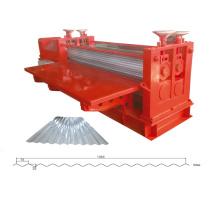 8feetGalvanized steel barrel corrugated roofing sheet machine