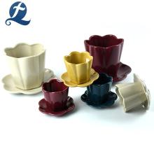 Venta al por mayor Mini maceta de cerámica creativa