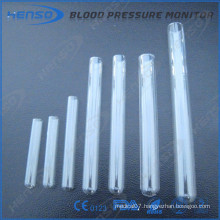 Henso glass test tubes in round bottom and plain mouth