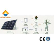 250kw cuadrícula atada planta de energía solar