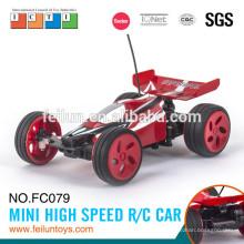 Nouvelle conception jouets rc 4CH mini haute vitesse plus petit rc voiture électrique pour enfants EN71/ASTM/EN62115/6P R & TTE/EMC/ROHS