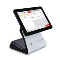 15,6-Zoll-Doppelbildschirm Android Based Pos Terminal