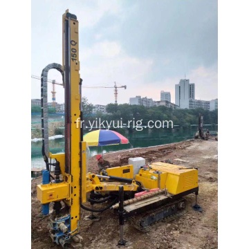 Forage hydraulique Jet Grouting Hole DTH Rock Crawler