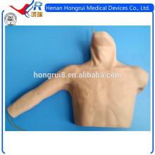 Simulador ISO PICC (catéteres venosos centrais inseridos perifericamente)