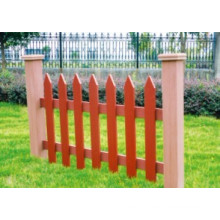 1100 * 800 2014 Eco-Friendly Hot Sale Cheap Outdoor Wood Plastic Composite WPC Fence