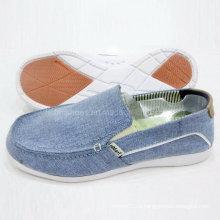 Обувь новый популярный Стиль Мужской скольжения на холст обувь обувь комфорт