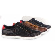 Zapatos de mujer ocio PU zapatos con suela de cuerda Snc-55016