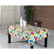 Heißer Verkauf hohe Qualität LFGB Customized Printed Plastic Tischdecke mit Unterstützung (JF0490)