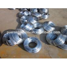 Beste Qualität 12 Gauge Low Carbon Eisen Draht verzinkt Eisendraht