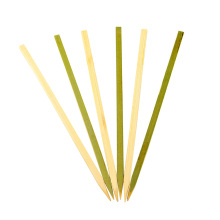 High Quality Household Lunch Or Dinner Tableware Grilled BBQ Flat Bamboo Sticks
