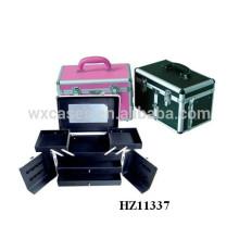 алюминиевая Парикмахерские Чехлы с 2 ящиками и 2 лотков внутри