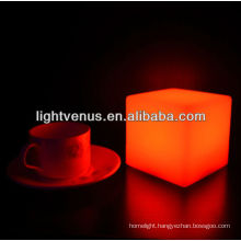 Battery Operated 10cm Cube battery operated table lamps lighting