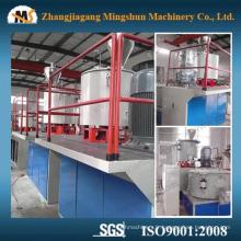 Machine de mélange de matières premières en plastique PVC